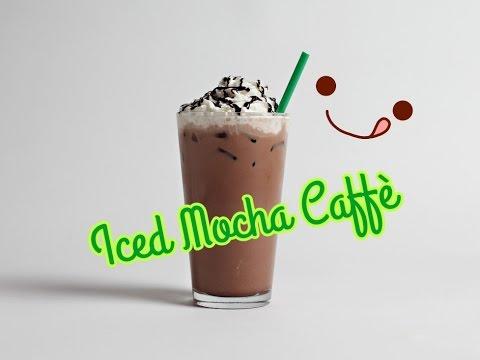 MOCHA ICED CAFFE' come quello di STARBUCKS