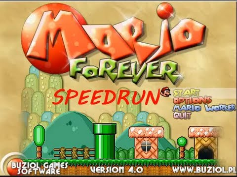 Mario Forever 4.0 In 16:54 (Speed Run By Daniel's Game Vault)