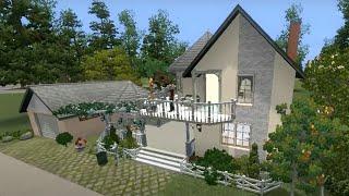Sims 3 Уютный загородный дом.