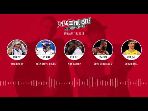 SPEAK FOR YOURSELF Audio Podcast (1.18.17) with Colin Cowherd, Jason Whitlock | SPEAK FOR YOURSELF