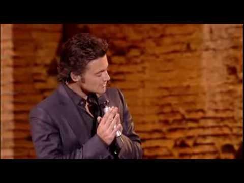 Vittorio Grigolo - Bedshaped (Così) - Live in Rome - Villa Adriana