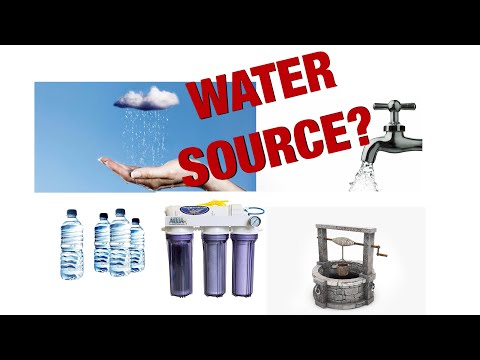 Water Source For Aquariums