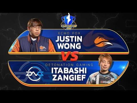 Justin Wong (Menat) Vs Itabashi Zangief (Abigail) - Capcom Cup 2018 Top 8 - CPT2018