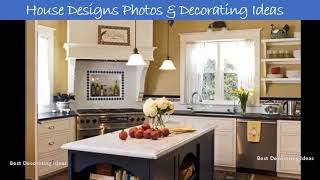 Corner kitchen stove designs | Pictures of Home Decorating Ideas with Kitchen Designs & Paint