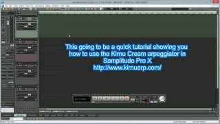 Samplitude Pro X : VST Midi Output Routing Ft.Kirnu-Cream Arpeggiator