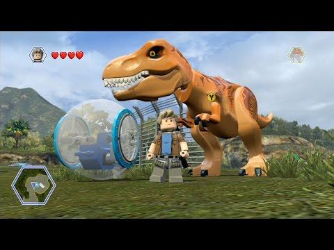 LEGO Jurassic World - Isla Nublar 2 - Open World Free Roam Gameplay [HD]