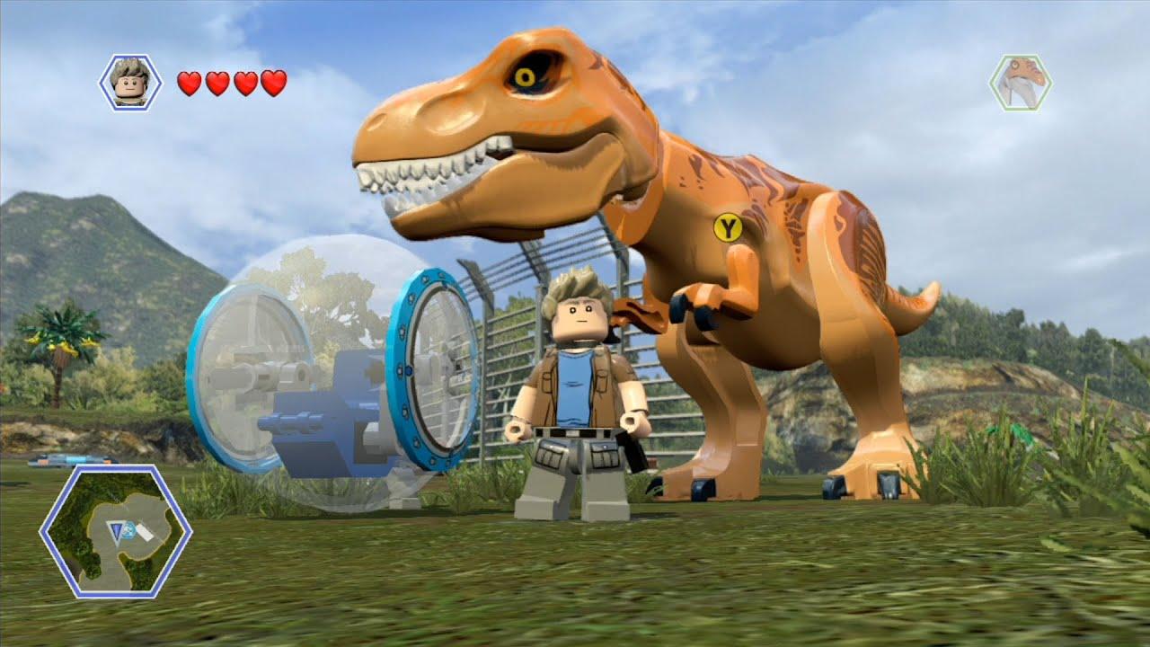 Lego Jurassic World Isla Nublar 2 Open World Free Roam Gameplay Hd Youtube