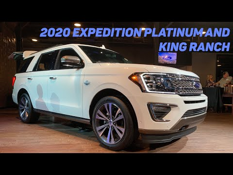 2020 Ford Expedition Platinum and King Ranch Reveal