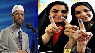 Intelligent Girl Trying To Defeat Dr Zakir Naik 2016 (Most Informative Q & A) dr zakir naik won !