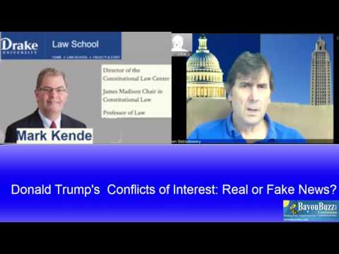 Donald Trump's conflicts of interest plan: Real or fake news? Law Professor Mark Kende opines