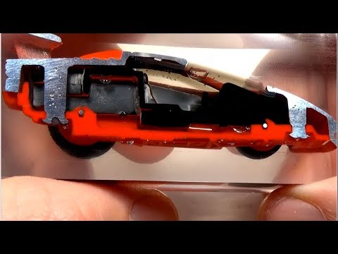 How to take a Hot Wheels\Matchbox car apart and put it back together.