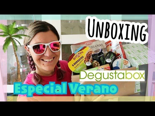 UNBOXING DEGUSTABOX Junio 2018 + Descuento | ESPECIAL Haul Verano