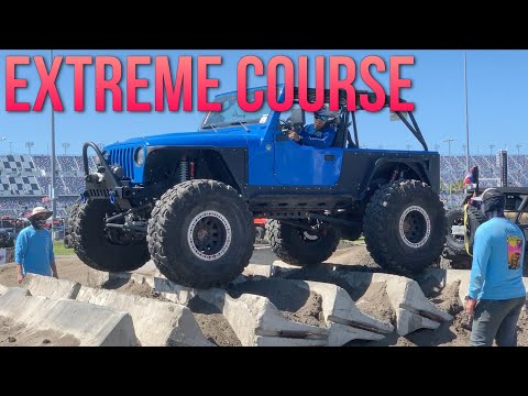 Daytona Jeep Beach 2019 Extreme Obstacle Course