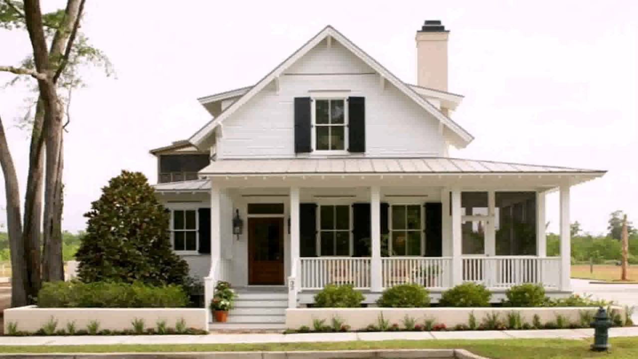Modern farmhouse style house plans youtube for Farmhouse modern style
