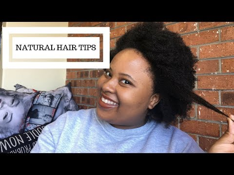 How to Grow Healthy Natural Hair | 4C Hair advice + More | South African Youtuber