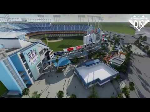 2020 Dodger Stadium Updated Renovation Renderings