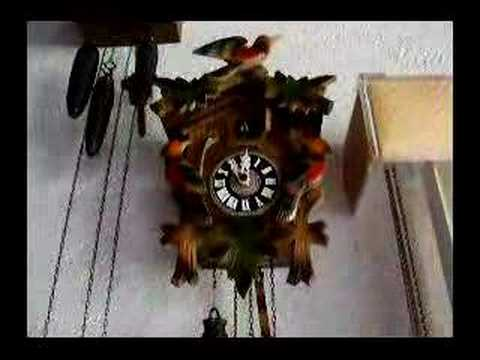 Small Colorful Cuckoo Clock Youtube