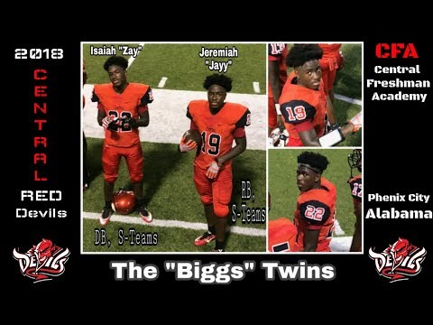 The BiggsTwins- Part 1- 2018 Central Freshman Academy Highlights