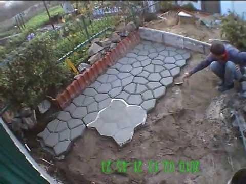 Купить форму для садовой дорожки ✓ цена от 140 грн ✈ доставка по киеву и украине ☑ сделайте садовые дорожки своими руками ☎ (066) 130-06-43.