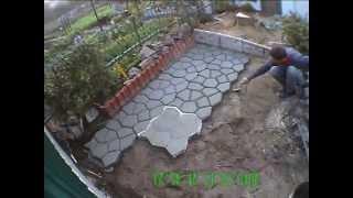 видео Садовые дорожки своими руками: фото, пошаговая инструкция