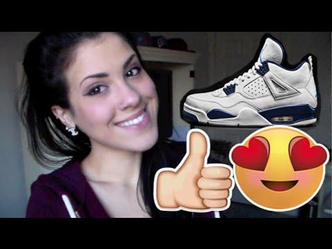 How I Got The Jordan 4 Columbia's | Legend Blue Review & On Foot