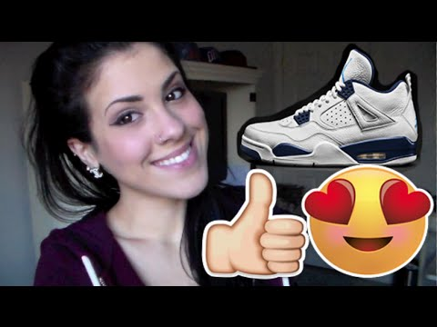 How I Got The Jordan 4 Columbia's | Legend Blue Review & On Foot