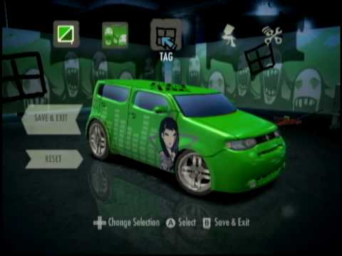 Need for Speed Nitro Customization