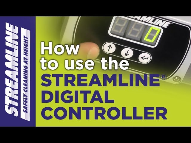 How to use your STREAMLINE® Digital Controller