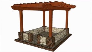 FULL PLANS at: http://www.howtospecialist.com/outdoor/diy-pergola-plans/ SUBSCRIBE for a new DIY video almost every single
