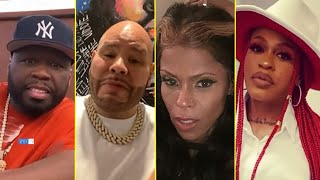50 Cent Reacts To Fat Joe Calling Lil Mo And Vita 'Dusty B*tches' During A Verzuz Battle