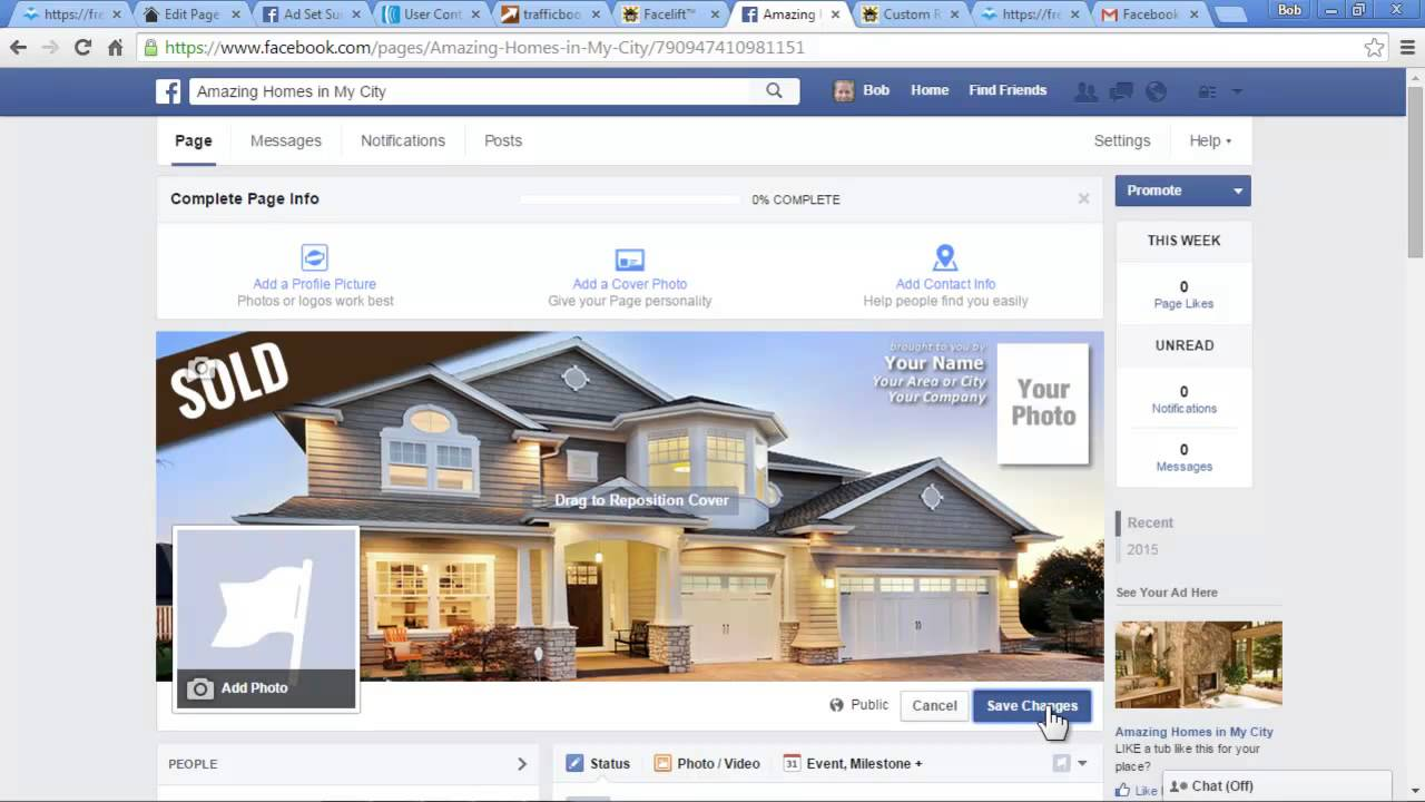 how to make page available to see on facebook