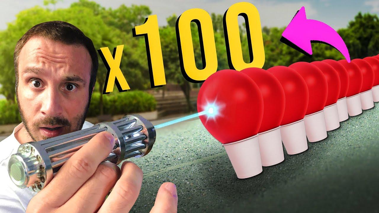 TikTok Hayat Hileleri | Askeri LAZER İle 100 BALON Patlatmak!!