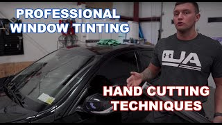 Techniques For Hand Cutting Window Tint