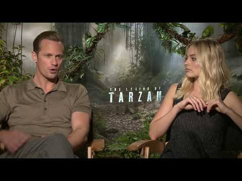 The Legend of Tarzan Interview - Margot Robbie & Alexander Skarsgard