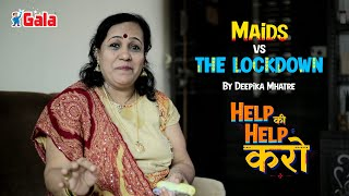 Deepika Mhatre and Gala Maid Welfare program   #HelpKiHelpKaro