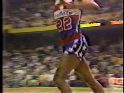 Clark Booth reports (2): Bullets beat Celtics, G2, 1982 NBA Playoffs & Celtics beat 76ers, G5,