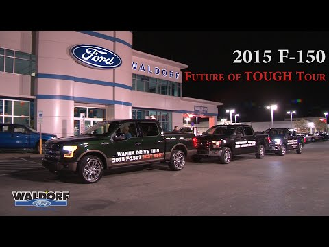 2015 f 150 tour drive the future of tough at waldorf ford. Black Bedroom Furniture Sets. Home Design Ideas