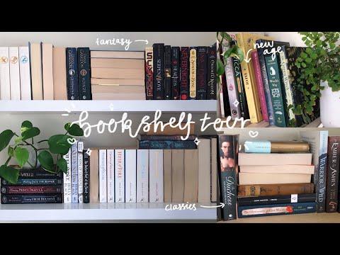 bookshelf tour 2021 ✨