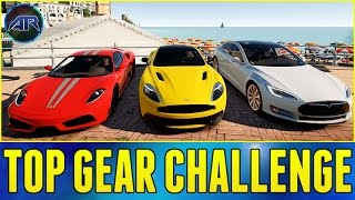 Forza Horizon 2 : Top Gear Challenge - BEST DRIVING ROAD IN SOUTHERN EUROPE!!!