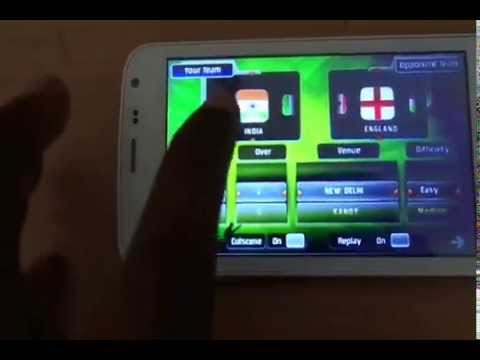 AndroidGamesApps@Dinos: World Cup Cricket Android Game Gameplay and