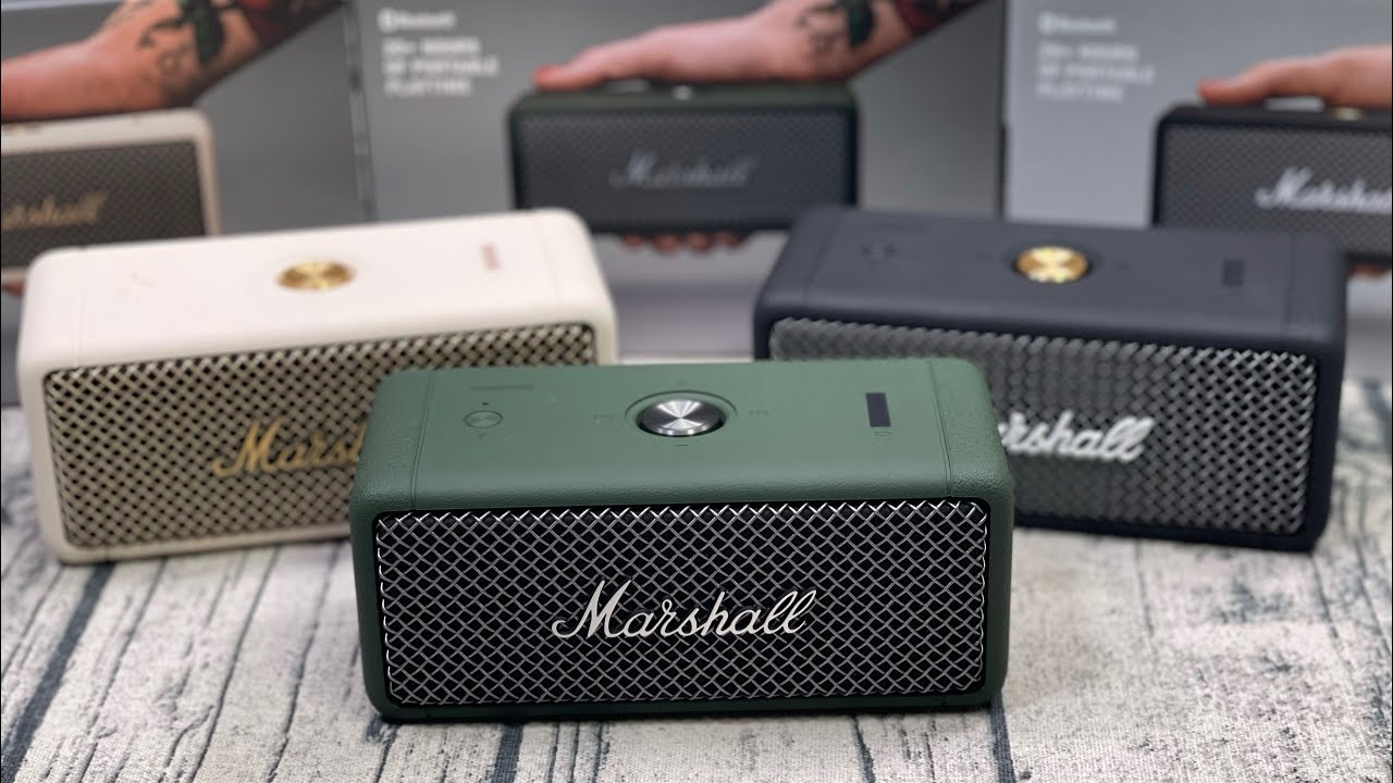 Download Marshall Emberton - This Speaker Just Killed The JBL Flip 5