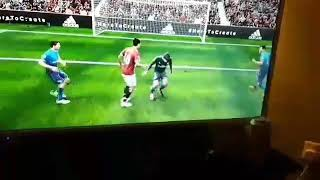 Funny real life football from arsenal
