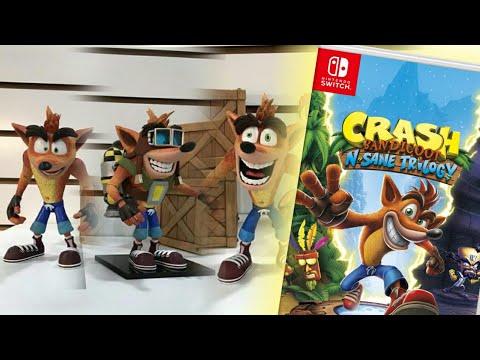 ¿Crash Bandicoot en Nintendo Switch? | ¡¡¡Más figuras de Crash!!!