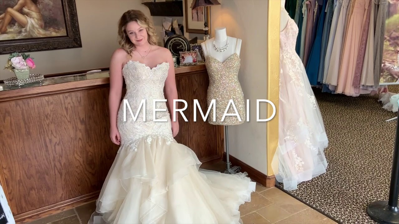 Bella Rose Bridal Dress Styles Youtube