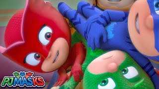 PJ Masks Song HEROES FOREVER Sing along with the PJ Masks  HD  Superhero Cartoons for Kids