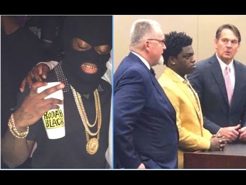 Kodak Black Pleads Guilty To Federal Strap Charges