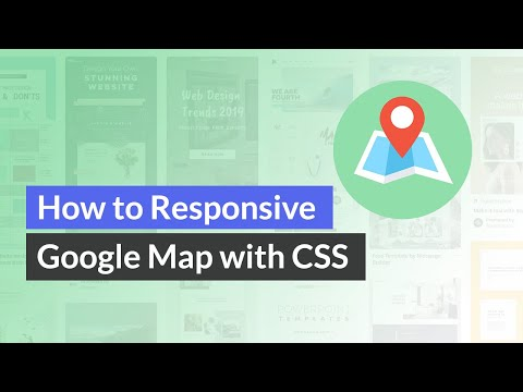 How To Make A Responsive Google Map Embed With CSS (EASY)