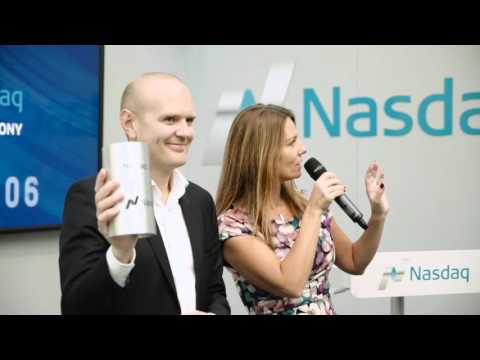 CLX Communications Listing Ceremony on Nasdaq Stockholm