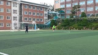 전일고 체육대회 축구 결승전 승부차기