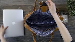 Кожаная сумка для ноутбука Solier EDYNBURG   Solier Ukraine